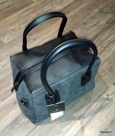 Sac à main carré cube femme shopping classe habillé cuir bowling bouling noir
