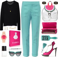 """""""Watermelon"""" by celida-loves-pink on Polyvore"""