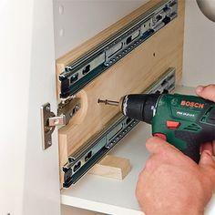 HOME DZINE Kitchen | Practical undersink storage drawers