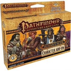 Pathfinder Card Game: Mummy's Mask Character Add On Deck