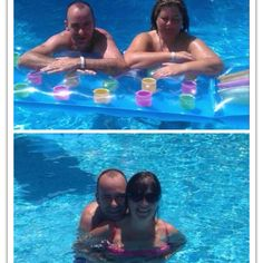 Happy being a water baby in the second photo x