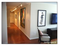 Entry Hallway Gallery #JandLDesigns