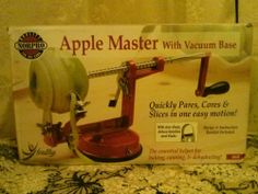 Norpro Apple Master Vacuum Base Pares, Cores, and Slices #Norpro