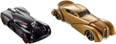 Star Wars 1:64 Scale Character Cars - Snoke and Kylo Ren