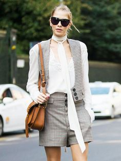 Silk scarves are one old-school accessory that will never go out of style. Here are ten ways to wear them, from fashion girls.