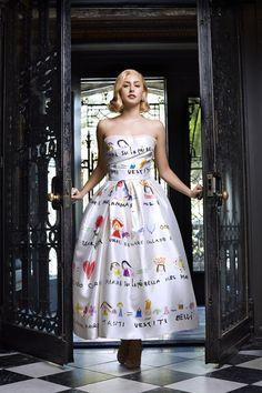 Jazmin Grace Grimaldi - Grace Kelly's Granddaughter in Harper's Bazaar Editorial--- Cool dress!