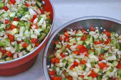 Mix Tracklements Cucumber & Pepper Relish #Tracklements #Cucumber #Pepper #Relish
