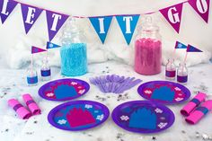 How to Throw a Frozen Party on a Budget - Party Delights Blog