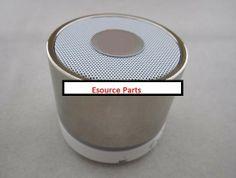 computer stores toronto | Mini Bluetooth Wireless MP3 Portable Hands-Free Speaker - Chrome Silver