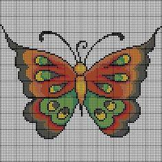 Butterfly -- perler beads
