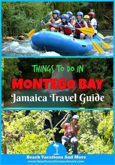 Top things to do in Montego Bay, Jamaica, on vacation - Bob Marley experience, bobsledding, ziplines, tubing, rafting, and other fun activities