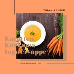 gesundes Mittagessen Fitness, Carrots, Veggie Food, Vegetarian Recipes, Healthy Menu, Small Pumpkins