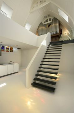 Staircase | Converted chapel into a residence, Utrecht, 2006 |