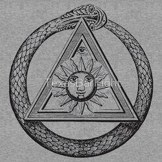 Masonic Symbol - Snake Eye