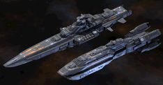 This pack contains four cruisers with modular weapons. They can be used in a space RTS game, a 3rd person spaceship shooter or in a topdown or sidescroller game. - Kyushu class battlecruiser - Maelstrom class heavy cruiser - Hyperion class light cruiser - Valiant class light carrier - Modular design - 6 turrets, 3 missile launchers, 1 torpedo launcher, gun batteries and hangars - 1 torpedo + 3 missiles included - 6 different texture sets - PSD with intact layers is included - PBR textures…