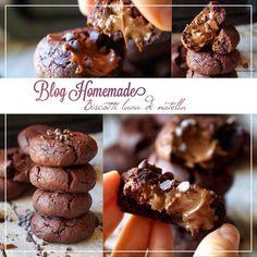 biscotti lava di nutella