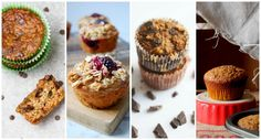 Healthy Muffin Recipes via @fitfluential  #muffin #fitfluential