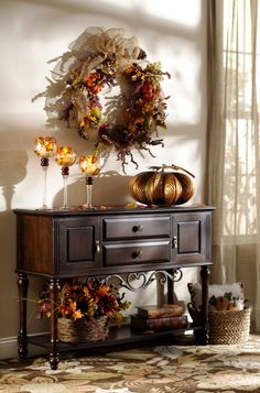 Elegant Fall decor...