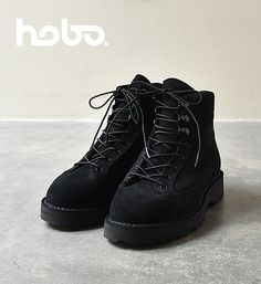 hobo ホーボー Cow Suede Leather Speed Race Boots by DANNER ダナー Yosemite ヨセミテ 通販 販売
