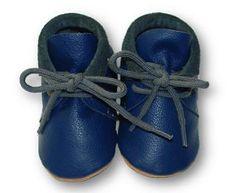 mokasynki GRANAT Leather Baby Shoes Moccassins Navy https://fiorino.eu/
