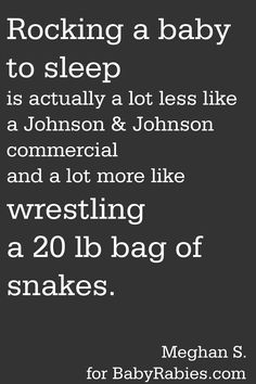 Yup, some nights I feel like I have been 12 rounds with Tyson by the the time G is asleep.