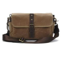 ONA The Bowery Camera Bag and Insert - Field Tan