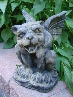 Mondus Distinction - Canada& Home and Garden Decor - Jimmy Gargoyle - # Gothic Fashion, Women's Fashion, Fashion Tips, Gargoyle Tattoo, Old Adage, Skull Head, Green Man, Magical Creatures, Almost Always