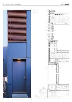 Revista de Arquitectura y Detalles Constructivos · Fachadas · Año 2001 · 1 B 2772 ISSN1578-5769 NOV · DIC