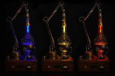 Steampunk Devils Bulb : steampunk lampe (Bild 4/10)