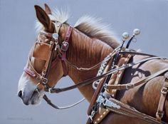 Harvey 9x12, painting by artist George Lockwood, Represented this Artist. CH