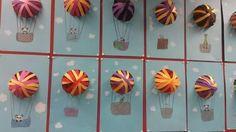 Kuumailmapallo 1/2 Hot Air Balloon, Primary School, Art Education, Art For Kids, Balloons, Spring, Artwork, Art Ideas, Facebook