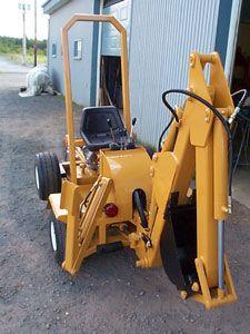 FCM Prototype digger, excavator, backhoe