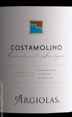 2013 Argiolas - Costamolino Vermentino di Sardegna - Google Search
