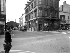 Photograph of Naylor Street, St.Helens looking down towards Market Hall from Church Street. Tray. Sep 1970. SBT/1/21