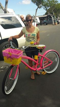 Tammy   her new bike. San Diego 2014 Letting Go 6558aa511