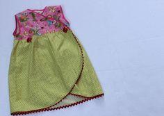 Tutorial: Tulip hem for a wrap skirt or dress