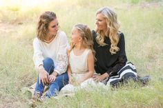 Mother/Daughter photo shoot in pistachio grove photographed by Jubilee Family Photography in Gilbert, AZ.