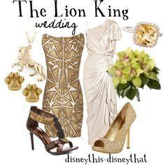 Disneybound wedding