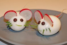 Super Cute Mice Eggs - Healthy and Fun Snacks for Kids