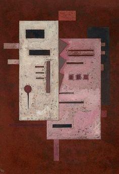 Wassily Kandinsky ~ Soft Roughness, 1933