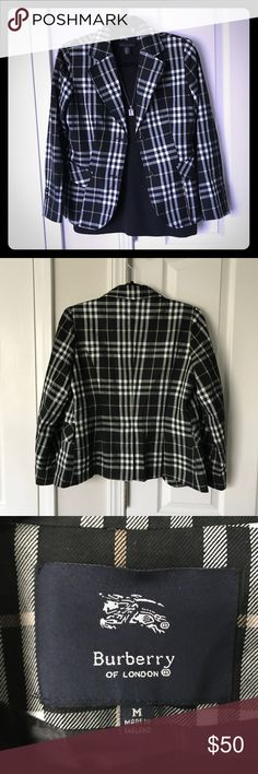 Burberry Blazer No stains or holes. Just not my style. Burberry Jackets & Coats Blazers