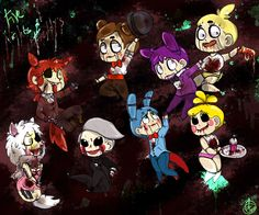 five nights at freddy's anime puppet - Buscar con Google