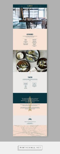 La Dorada Restaurant Web Design by Bunker3022 | Fivestar Branding Agency – Design and Branding Agency & Inspiration Gallery