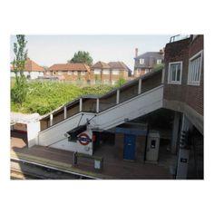 West Acton Tube/Underground Station, London
