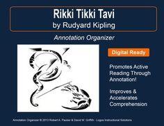 A dark brown dog by stephen crane annotation organizer reading rikki tikki tavi by rudyard kipling annotation organizer fandeluxe Choice Image
