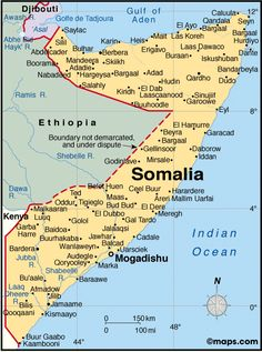 Somalia Atlas: Maps and Online Resources   Infoplease.com