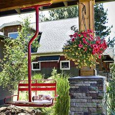SkinLift Patio Swing 22 Amazingly DIY Patio and Garden Swings