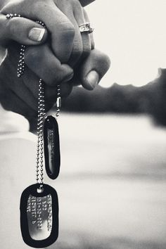 Diamonds and dogtags ♥