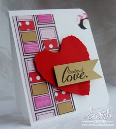 Shades of Love Card by Tenia Sanders-Nelson - Cards and Paper Crafts at Splitcoaststampers