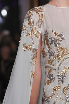 Zuhair Murad Spring 2013...More beautiful details to recreate in your custom-made wedding dress